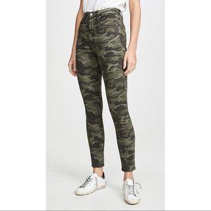 Good American Good Waist High Rise Camo Skinny Jeans sz 16